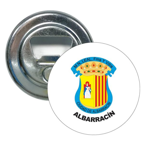 abridor redondo escudo heraldico albarracin
