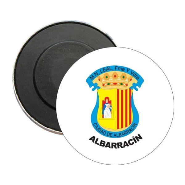 iman redondo escudo heraldico albarracin