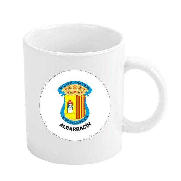 taza escudo heraldico albarracin