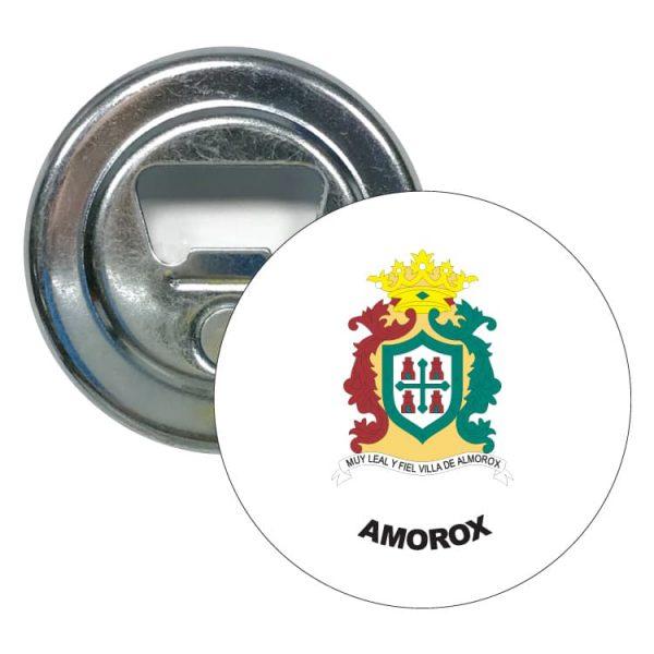 abridor redondo escudo heraldico amorox