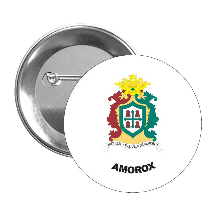 chapa escudo heraldico amorox