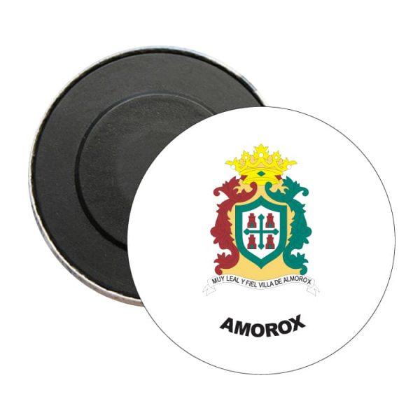 iman redondo escudo heraldico amorox