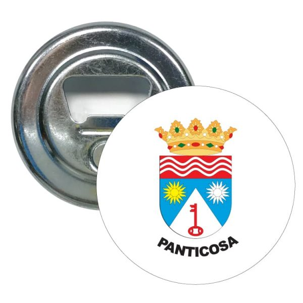 abridor redondo escudo heraldico panticosa