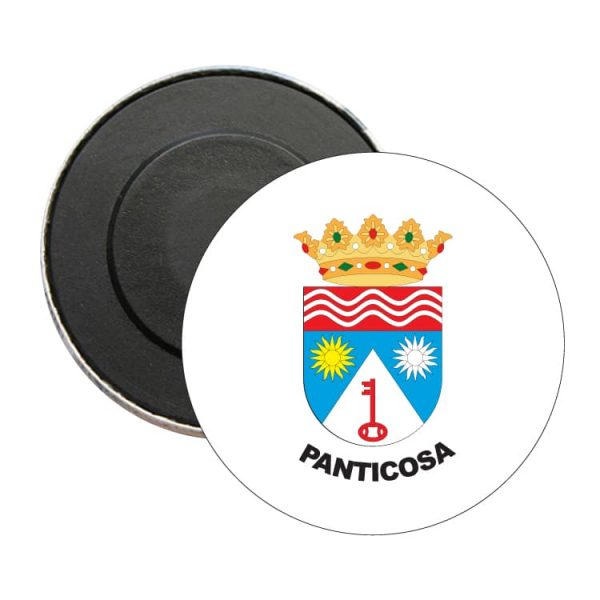 iman redondo escudo heraldico panticosa