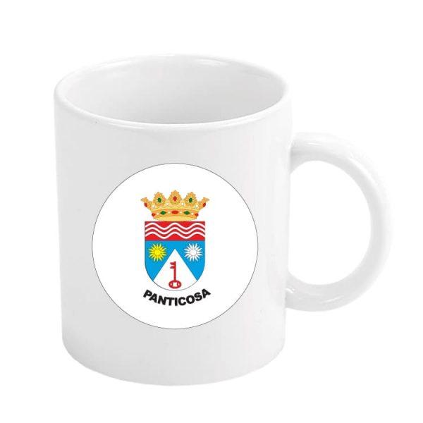 taza escudo heraldico panticosa