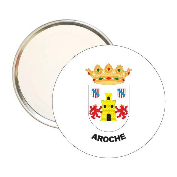 espejo redondo escudo heraldico aroche