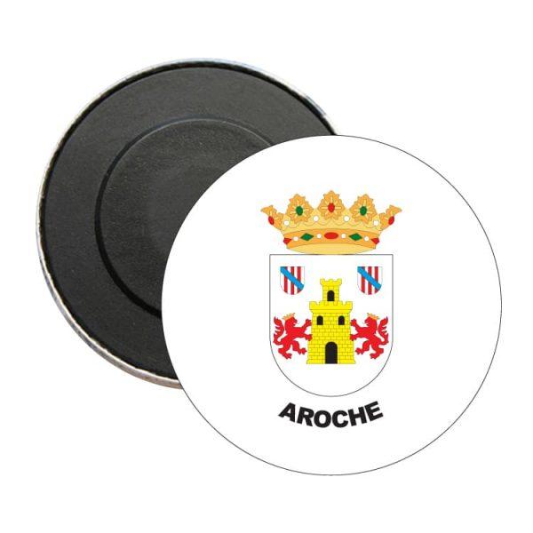 iman redondo escudo heraldico aroche