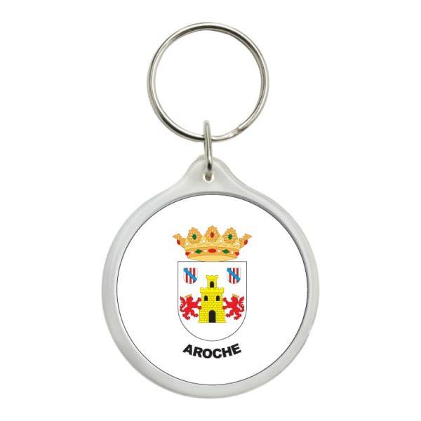 llavero redondo escudo heraldico aroche