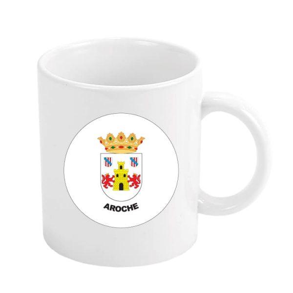 taza escudo heraldico aroche