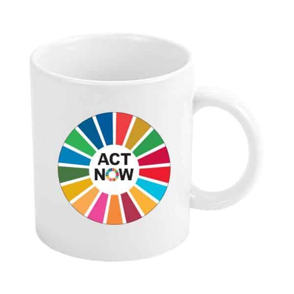 taza act now ods sdg desarrollo sostenible #1