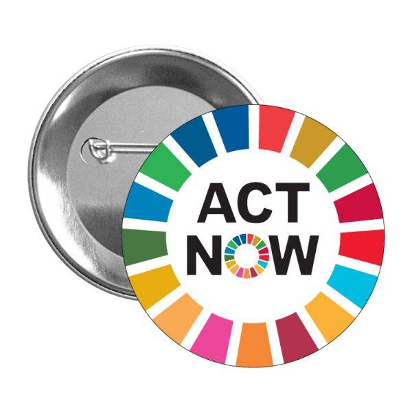 chapa ods sdg desarrollo sostenible act now-#2