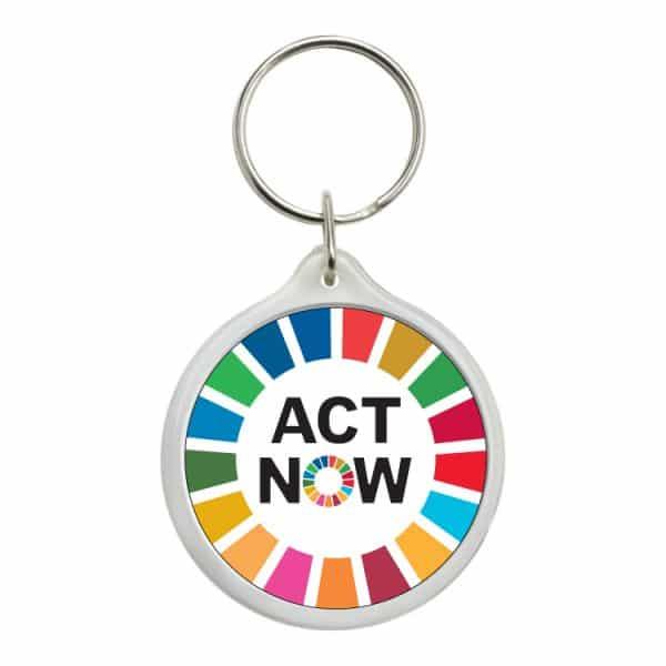 llavero redondo ods sdg desarrollo sostenible act now #2