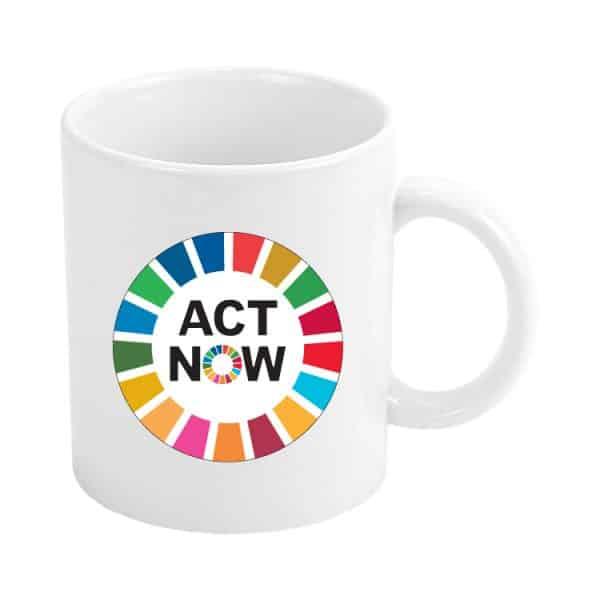 taza ods sdg desarrollo sostenible act now #2