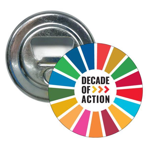 abridor redondo ods sdg desarrollo sostenible decade of action