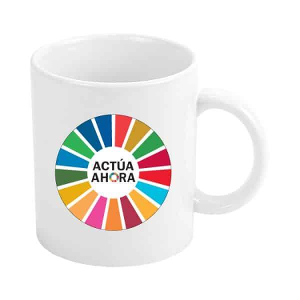 taza ods sdg desarrollo sostenible actua ahora