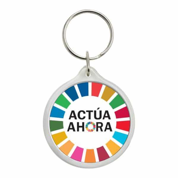llavero redondo ods sdg desarrollo sostenible actua ahora #2