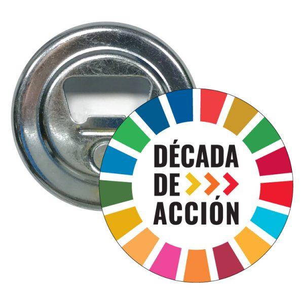 abridor redondo ods sdg desarrollo sostenible decada de acccion