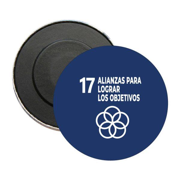 iman redondo ods sdg desarrollo sostenible 17 alianzas para lograr objetivos