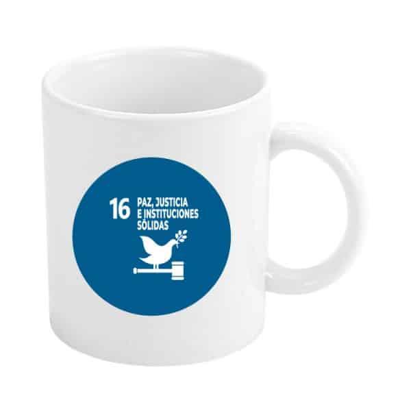 taza ods sdg desarrollo sostenible 16 paz justicia e instituciones solidas