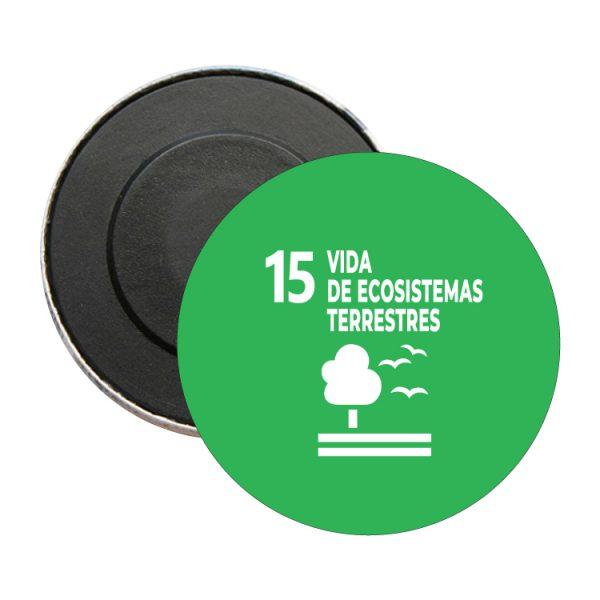 iman redondo ods sdg desarrollo sostenible 15 vidas de ecosistemas terrestres