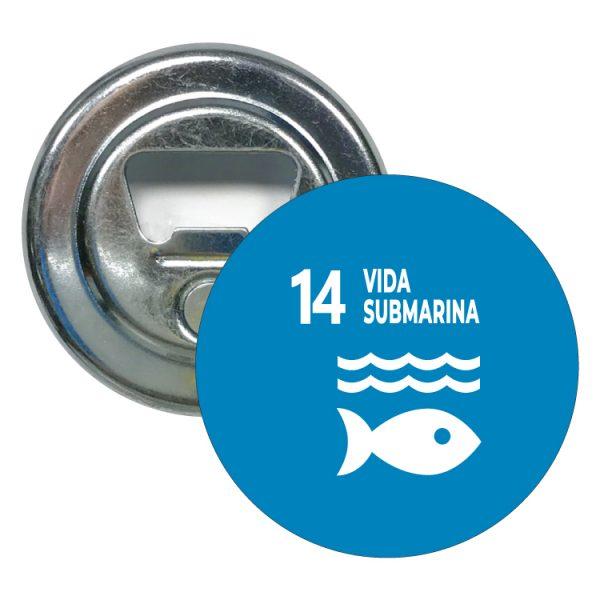 abridor redondo ods sdg desarrollo sostenible 14 vida submarina