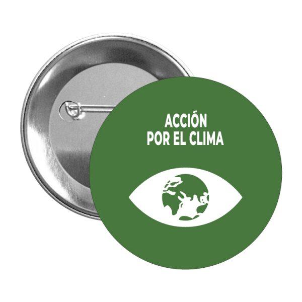 chapa ods sdg desarrollo sostenible accion por el clima