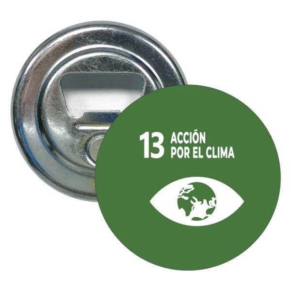 abridor redondo ods sdg desarrollo sostenible 13 accion por el clima