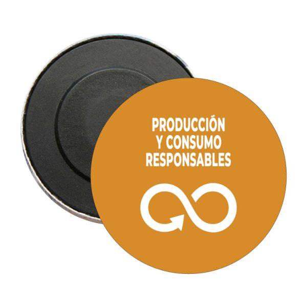 iman redondo ods desarrollo sostenible produccion y consumos responsables