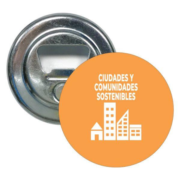 abridor redondo ods sdg desarrollo sostenible ciudades y comunidades sostenibles