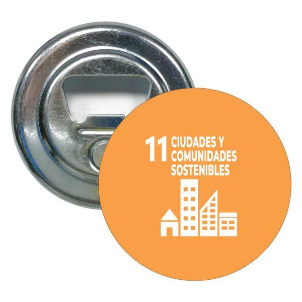 abridor redondo ods sdg desarrollo sostenible 11 ciudades y cpmunidades-sostenibles