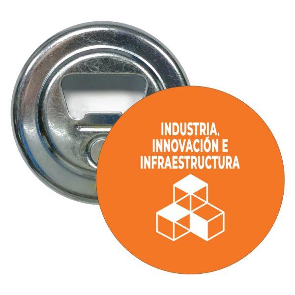 abridor redondo ods sdg desarrollo sostenible industrias innovacion e infraestructuras
