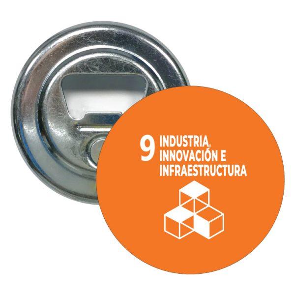 abridor redondo ods sdg desarrollo sostenible 9 industria innovacion e infraestrutura