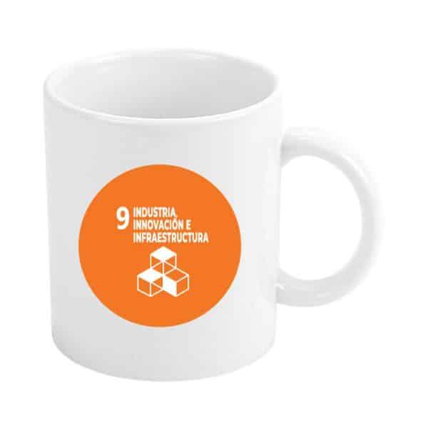 taza ods sdg desarrollo sostenible 9 industria innovacion e infraestrutura