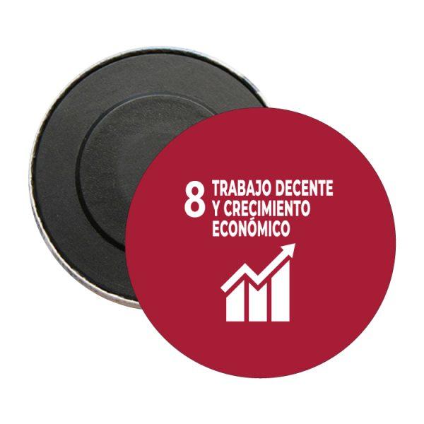 iman redondo ods desarrollo sostenible 8 trabajo decente y crecimiento economico