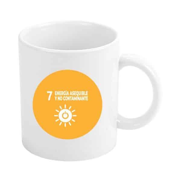 taza ods sdg desarrollo sostenible 7 energia esequible y no contaminante