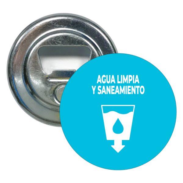 abridor redondo ods sdg desarrollo sostenible agua limpia y saneamiento