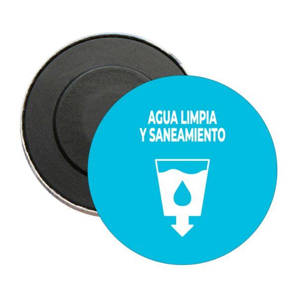 iman redondo ods sdg desarrollo sostenible agua limpia y saneamiento
