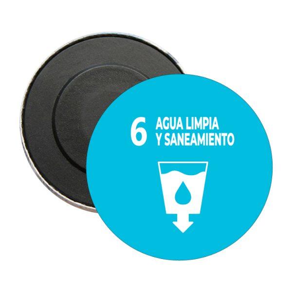 iman redondo ods sdg desarrollo sostenible 6 agua limpia y saneamiento