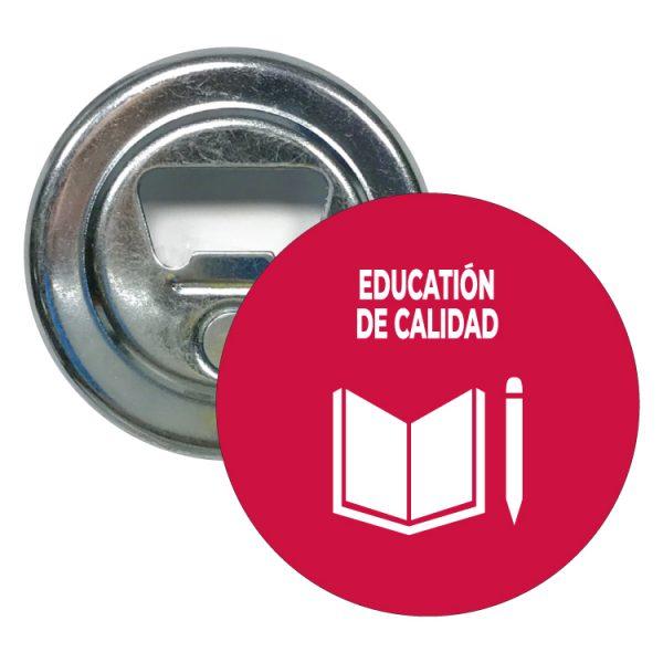 abridor redondo ods sdg desarrollo sostenible education de calidad