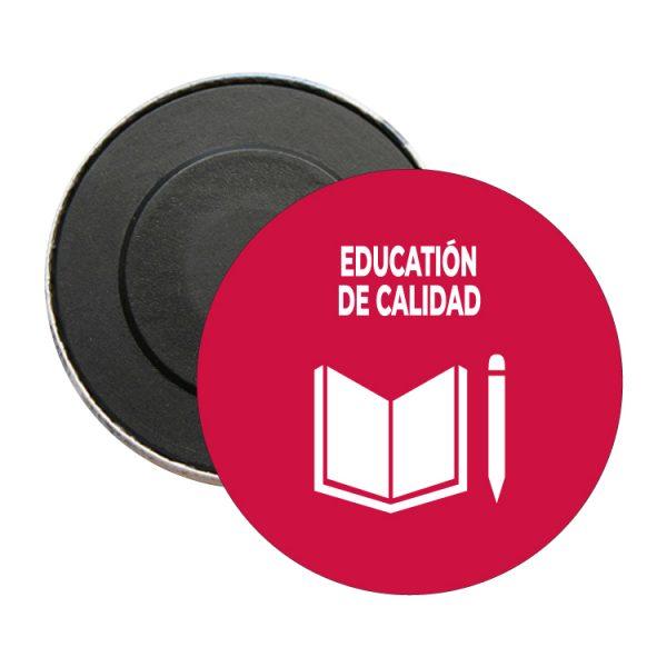 iman redondo ods sdg desarrollo sostenible education de calidad