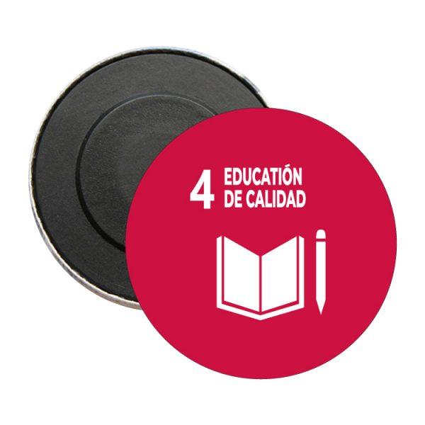 iman redondo ods sdg desarrollo sostenible 4 education de calidad