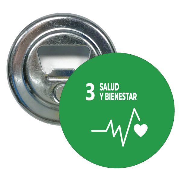 abridor redondo ods sdg desarrollo sostenible 3 salud y bienestar