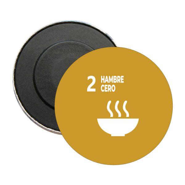 iman redondo ods sdg desarrollo sostenible 2 hambre cero