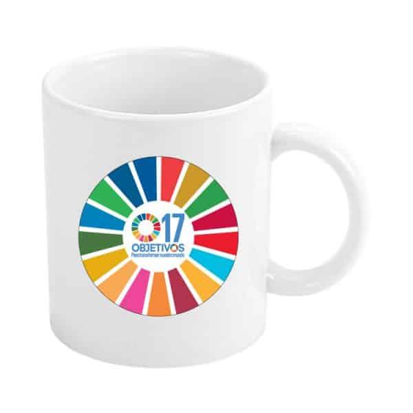 taza ods desarrollo sostenible 17 objetivos para transformar nuestro mundo