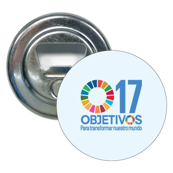 abridor redondo ods desarrollo sostenible 17 objetivos para transformar nuestro mundo #2