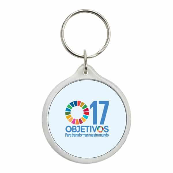llavero redondo ods sdg desarrollo sostenible 17 objetivos para transformar nuestro mundo #2