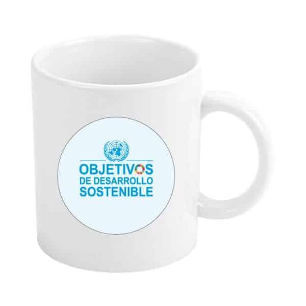taza ods sdg desarrollo sostenible