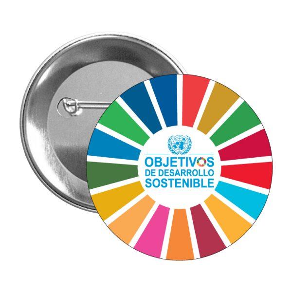 chapa ods sdg desarrollo sostenible #2