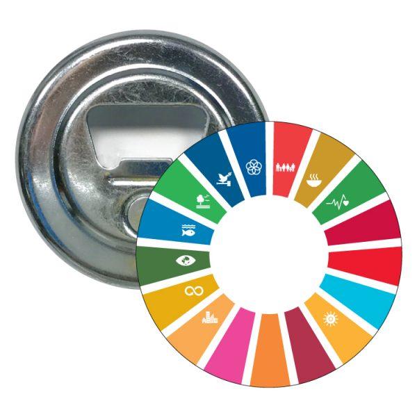 abridor redondo ods sdg desarrollo sostenible 11 objetivos