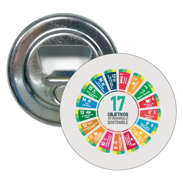 abridor redondo ods sdg desarrollo sostenible 17 objetivos